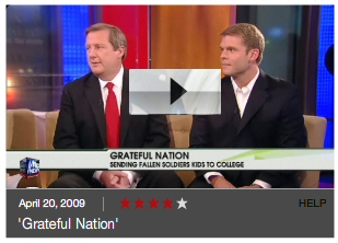 Grateful Nation on Fox